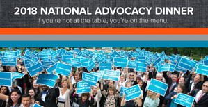 National student advocacy dinner